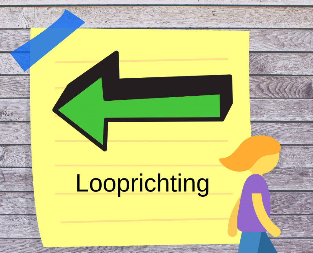 Looprichting -over duidelijke taal!